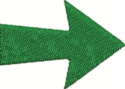 Green Arrow embroidery design