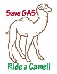 Ride a Camel embroidery design
