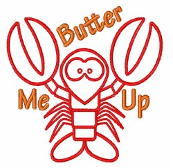 Butter Me embroidery design