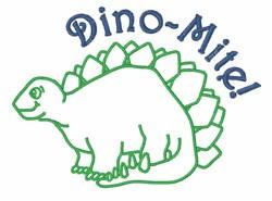 Dino_Mite embroidery design