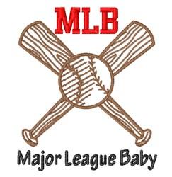 Major League Baby embroidery design