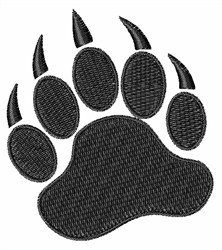 Bear Claw embroidery design