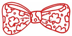 Bow Tie embroidery design