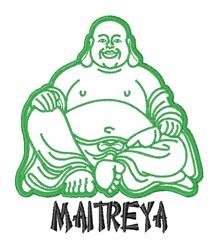 Maitreya embroidery design