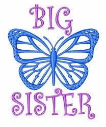 Big Sister embroidery design