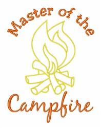 Campfire Master embroidery design