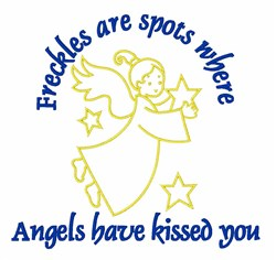 Angel Spots embroidery design