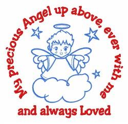 Precious Angel embroidery design