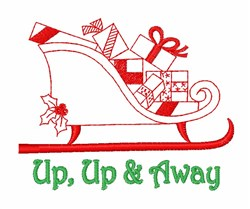 Up & Away embroidery design