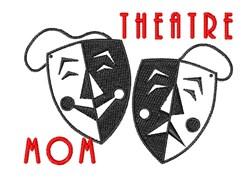 Theatre Mom embroidery design