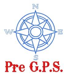 Pre GPS embroidery design