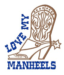 Manheels embroidery design