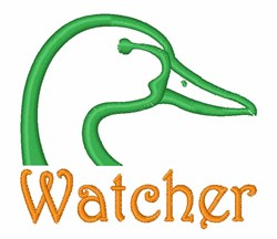 Watcher embroidery design
