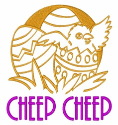 Cheep Cheep embroidery design