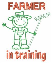 Farmer Training embroidery design