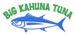 Big Tuna embroidery design