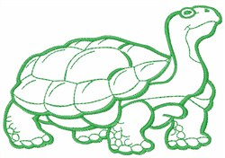 Giant Tortoise embroidery design