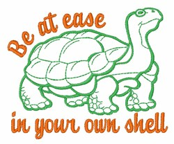 Be At Ease embroidery design