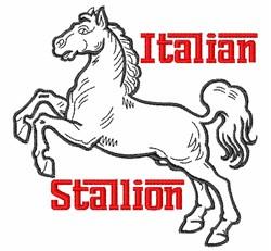 Itallion Stallion embroidery design
