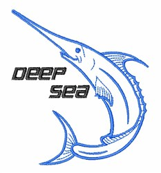 Deep Sea embroidery design