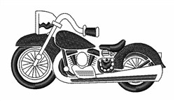 Motorcycle Bike embroidery design