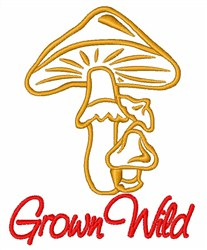 Grown Wild embroidery design