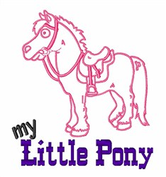 My Little Pony embroidery design