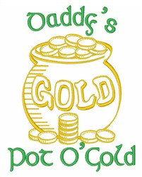 Daddys Gold embroidery design
