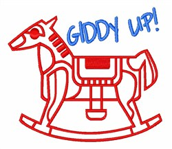 Giddy Up! embroidery design