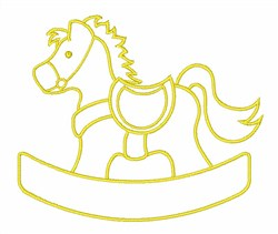 Rocking Horse Toy embroidery design