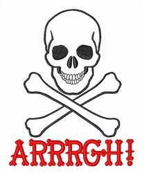 Arrrgh! embroidery design