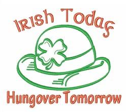 Irish Today embroidery design