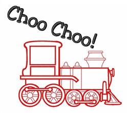 Choo Choo Train embroidery design