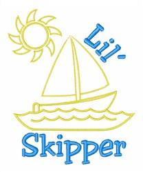 Lil Skipper embroidery design