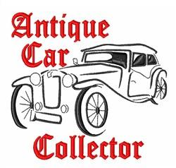 Antique Car Collector embroidery design