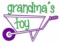 Grandmas Toy embroidery design