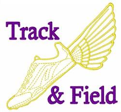Track & Field embroidery design