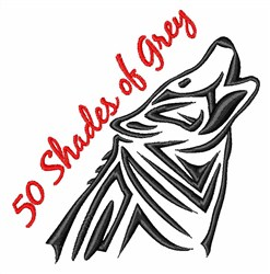 50 Shades embroidery design