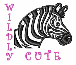 Wildly Cute embroidery design