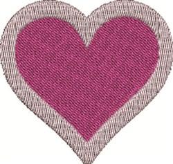 Heart Shape embroidery design