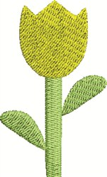 Tulip Flower embroidery design