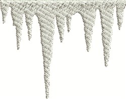 Icicle Border embroidery design