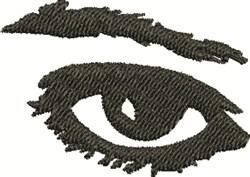 An Eye embroidery design