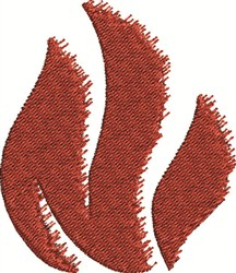 Rough Flames embroidery design