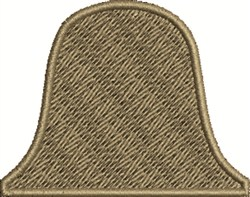 Bell Shape embroidery design