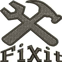 Fixit Tools embroidery design