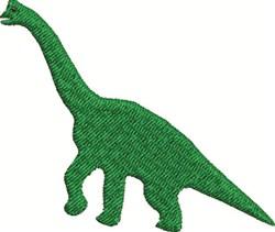 Green Dinosaur embroidery design