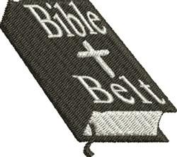Bible Belt embroidery design