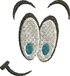 Funny Eyeballs embroidery design