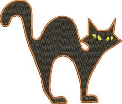 Halloween Cat embroidery design
